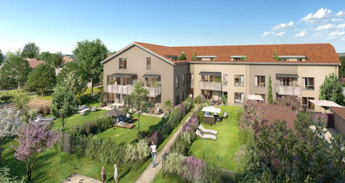 Achat / Vente immobilier neuf Bron centre proche tramway (69500) - Réf. 5785