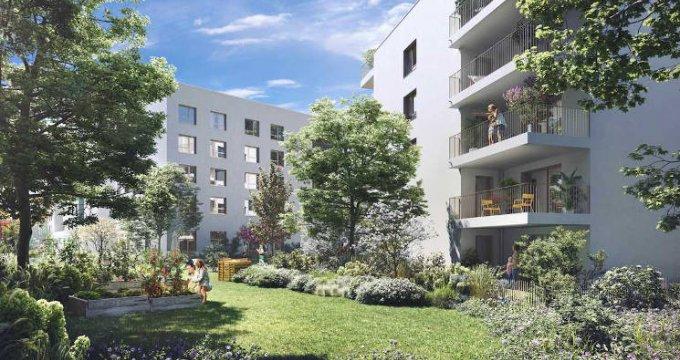 Achat / Vente immobilier neuf Bron écoquartier la Clairière (69500) - Réf. 5347