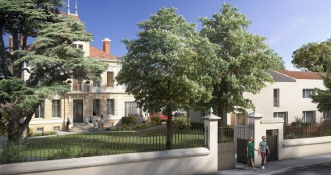 Achat / Vente immobilier neuf Bron proche du Fort (69500) - Réf. 2974
