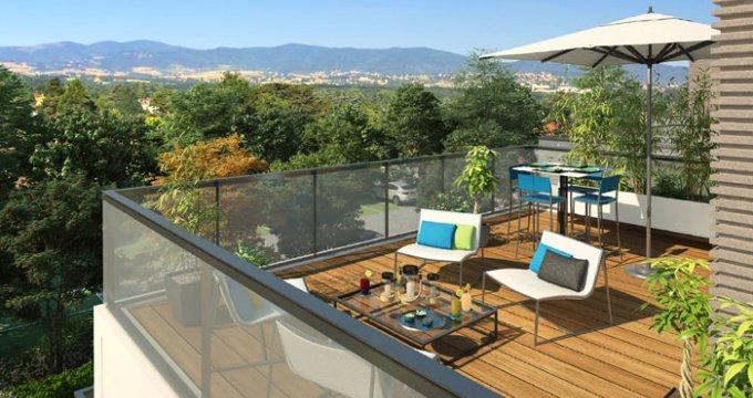 Achat / Vente immobilier neuf Charbonnières-les-Bains dans domaine privé (69260) - Réf. 124