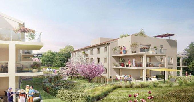 Achat / Vente immobilier neuf Charbonnières-les-Bains en coeur de ville (69260) - Réf. 5105