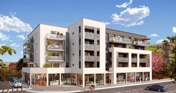 Achat / Vente immobilier neuf Décines-Charpieu Place Roger Salengro (69150) - Réf. 1364