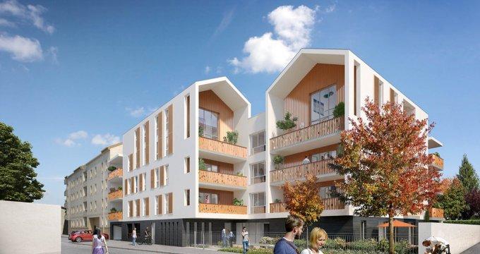 Achat / Vente immobilier neuf Décines-Charpieu proche parc Miribel Jonage (69150) - Réf. 821