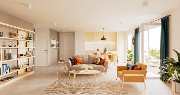 Achat / Vente immobilier neuf Givors au coeur du quartier du Canal (69700) - Réf. 5894