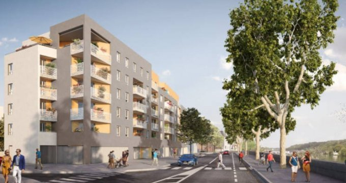 Achat / Vente immobilier neuf Givors proche centre (69700) - Réf. 3826