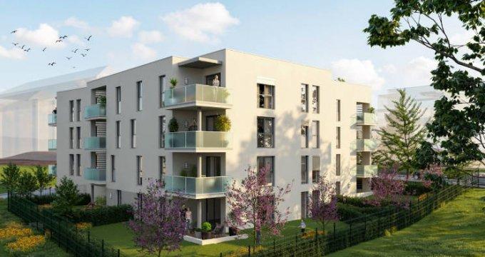 Achat / Vente immobilier neuf Gleizé à 15 minutes à pied de la gare (69400) - Réf. 4741