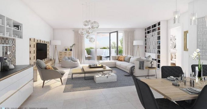 Achat / Vente immobilier neuf La Tour-de-Salvagny au coeur de la ville (69890) - Réf. 5983