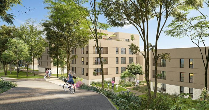 Achat / Vente immobilier neuf Lyon 05 secteur Point Du Jour - Champvert (69005) - Réf. 6255
