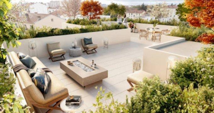 Achat / Vente immobilier neuf Lyon au cœur du quartier Monchat (69003) - Réf. 4599