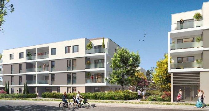 Achat / Vente immobilier neuf Meyzieu centre-ville (69330) - Réf. 2067