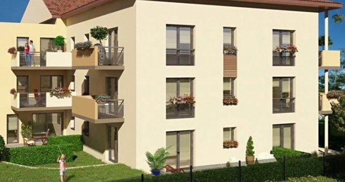 Achat / Vente immobilier neuf Meyzieu proche médiathèque (69330) - Réf. 3501