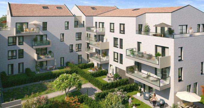 Achat / Vente immobilier neuf Neuville-sur-Saône proche de l'hyper centre (69250) - Réf. 2757