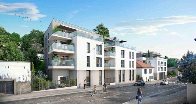 Achat / Vente immobilier neuf Rillieux-la-Pape proche place Canellas (69140) - Réf. 6038