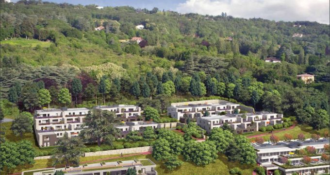 Achat / Vente immobilier neuf Saint-Cyr-au-Mont-D'Or sur les hauteurs (69450) - Réf. 5333