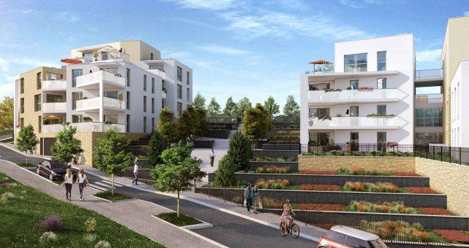 Achat / Vente immobilier neuf Saint-Didier-au-Mont-d'Or à 300 m du cœur historique (69370) - Réf. 1072