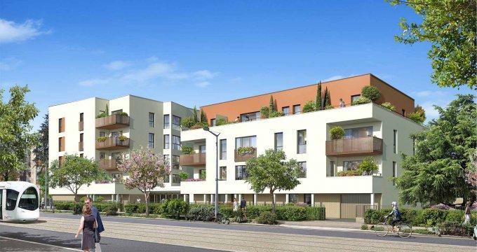 Achat / Vente immobilier neuf Saint-Priest à 3 min à pied du tramway T2 (69800) - Réf. 6332