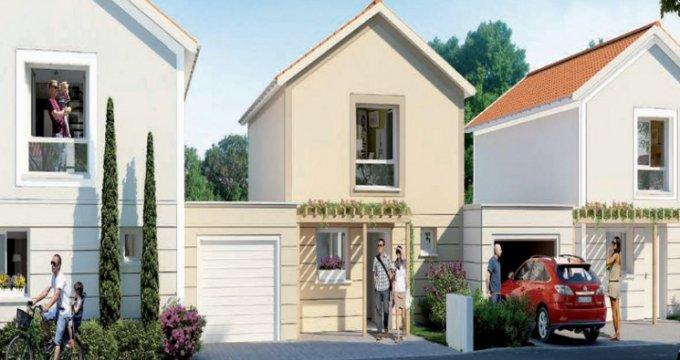 Achat / Vente immobilier neuf Saint-Priest cœur quartier Manissieux (69800) - Réf. 3844
