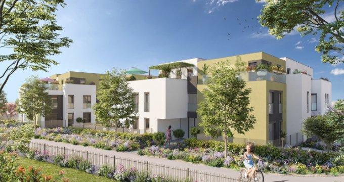 Achat / Vente immobilier neuf Sainte-Foy-lès-Lyon au cœur du quartier Saint-Loup (69110) - Réf. 5272