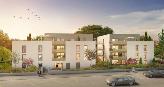 Achat / Vente immobilier neuf Sainte-Foy-lès-Lyon quartier résidentiel proche Mairie (69110) - Réf. 5516