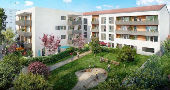 Achat / Vente immobilier neuf Vaulx-en-Velin proche place du marché (69120) - Réf. 3411
