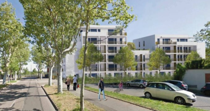 Achat / Vente immobilier neuf Vaulx-en-Velin secteur Carré de Soie (69120) - Réf. 4813