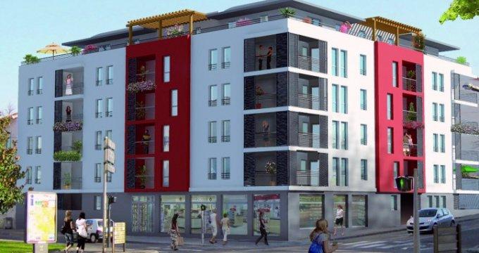 Achat / Vente immobilier neuf Vénissieux centre - TVA réduite 7% (69200) - Réf. 4525