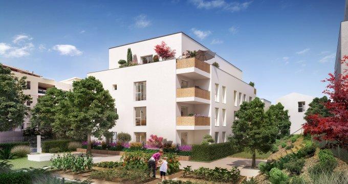 Achat / Vente immobilier neuf Vénissieux proche tramway T4 (69200) - Réf. 3396