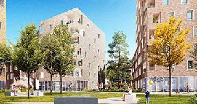 Achat / Vente immobilier neuf Villeurbanne à 1 minute du métro (69100) - Réf. 3927