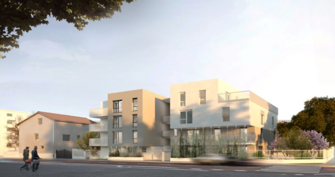 Achat / Vente immobilier neuf Villeurbanne proche de La Doua (69100) - Réf. 5486