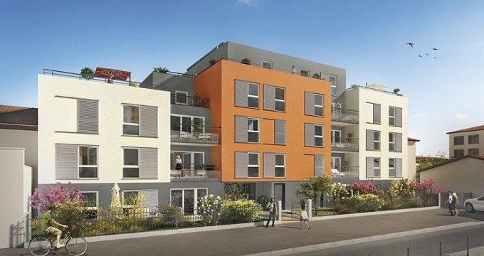 Achat / Vente immobilier neuf Villeurbanne proche Ferrandière - Maisons Neuves (69100) - Réf. 612