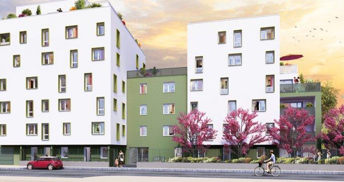 Achat / Vente immobilier neuf Villeurbanne quartier Bon Coin (69100) - Réf. 2735