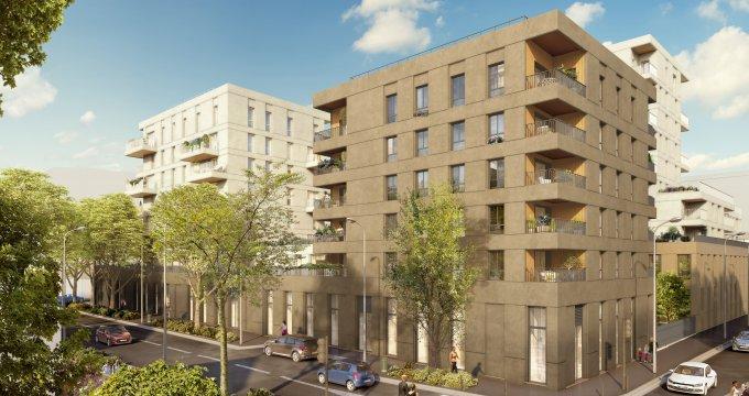 Achat / Vente immobilier neuf Villeurbanne quartier Gratte-Ciel (69100) - Réf. 4132