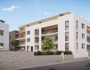 Achat / Vente immobilier neuf Craponne proche centre à 3min à pied du bus (69290) - Réf. 5684