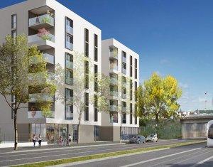 Achat / Vente immobilier neuf Lyon 8ème proche parc Clos Layat (69008) - Réf. 2072
