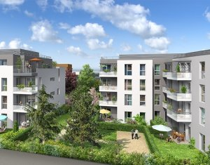Achat / Vente immobilier neuf Meyzieu centre ville (69330) - Réf. 1298