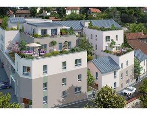 Achat / Vente immobilier neuf Rillieux-la-Pape sur la colline de Crépieux (69140) - Réf. 572