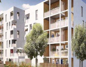 Achat / Vente immobilier neuf Vaulx-en-Velin quartier Carré de Soie (69120) - Réf. 2991