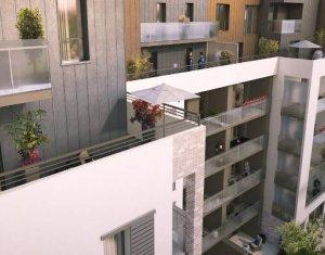 Achat / Vente immobilier neuf Villeurbanne au pied des transports (69100) - Réf. 4495