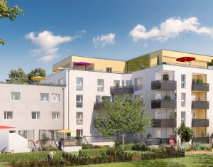 Achat / Vente immobilier neuf Villeurbanne proche de l'arrêt Flachet (69100) - Réf. 2474