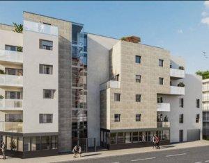 Achat / Vente immobilier neuf Villeurbanne proche tramway T1 et T4 (69100) - Réf. 4033