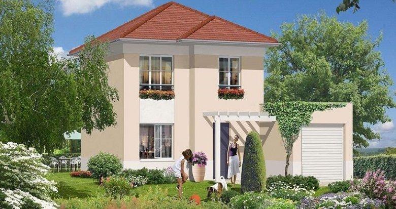 Achat / Vente immobilier neuf Albigny-sur-Saône proche du cœur de village (69250) - Réf. 1290