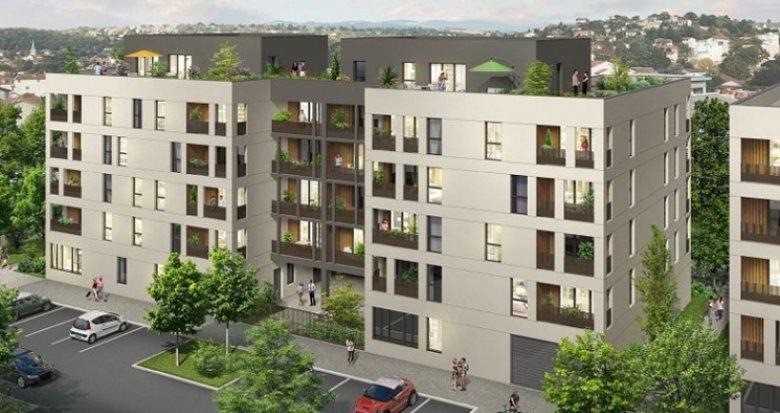 Achat / Vente immobilier neuf Brignais à côté de la Gare (69530) - Réf. 1314