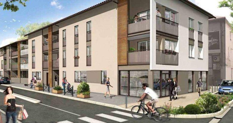 Achat / Vente immobilier neuf Brignais proche mairie (69530) - Réf. 960