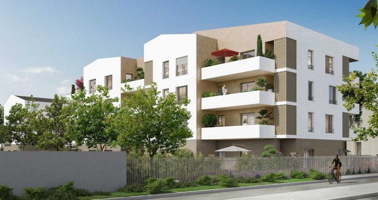Achat / Vente immobilier neuf Brignais proche Tram-Train (69530) - Réf. 3443