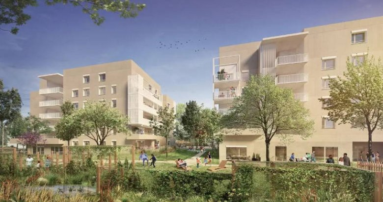 Achat / Vente immobilier neuf Bron proche parcs (69500) - Réf. 4466
