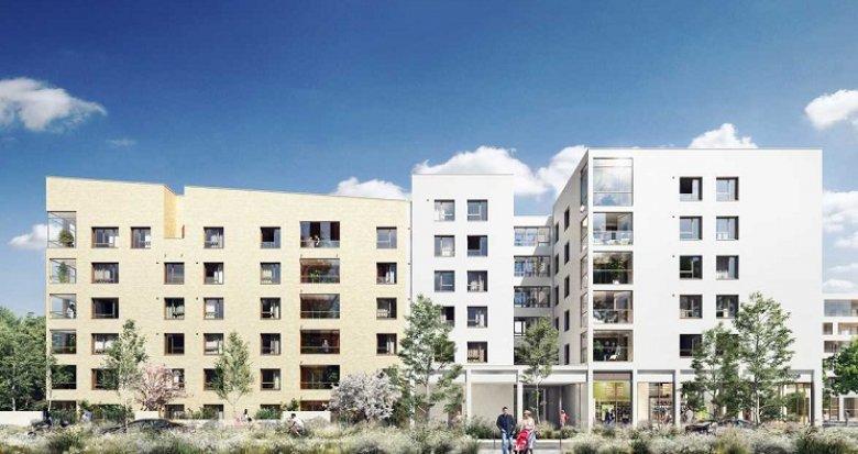 Achat / Vente immobilier neuf Bron quartier le Champ des Possibles (69500) - Réf. 4979
