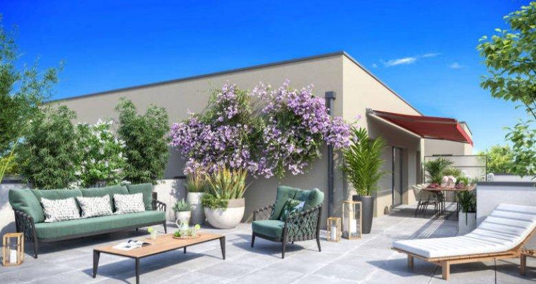 Achat / Vente immobilier neuf Caluire-et-Cuire à 15 min du centre-ville lyonnais (69300) - Réf. 4943