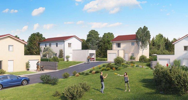 Achat / Vente immobilier neuf Chaponnay proche de Lyon (69970) - Réf. 2552