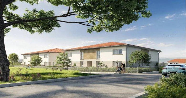 Achat / Vente immobilier neuf Chassagny au coeur du village (69700) - Réf. 4410