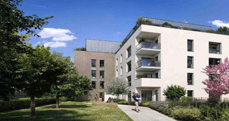 Achat / Vente immobilier neuf Chassieu au cœur du village (69680) - Réf. 5511